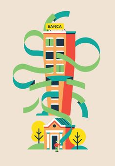 Goran illustratore #GoranFactory #illustration #BakeAgency #Bakeinspired #ilsole24ore