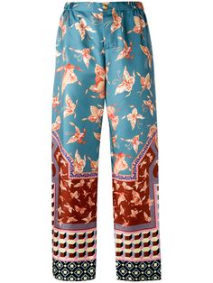 F.R.S FOR RESTLESS SLEEPERS Multiple Patterns Straight Trousers. #f.r.sforrestlesssleepers #cloth #trousers