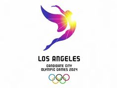 Los Angeles Releases Logo And Slogan For 2024 Olympic Bid - DesignTAXI.com