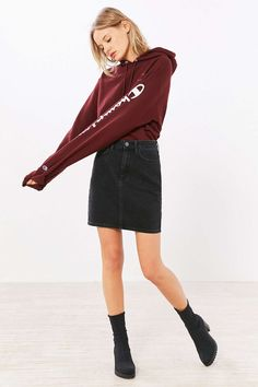 BDG Pencil Denim Mini Skirt - Urban Outfitters
