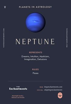 Neptune Sign in Astr