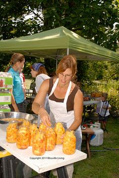 Blissville Living: Outdoor Canning Kitchen Part 49