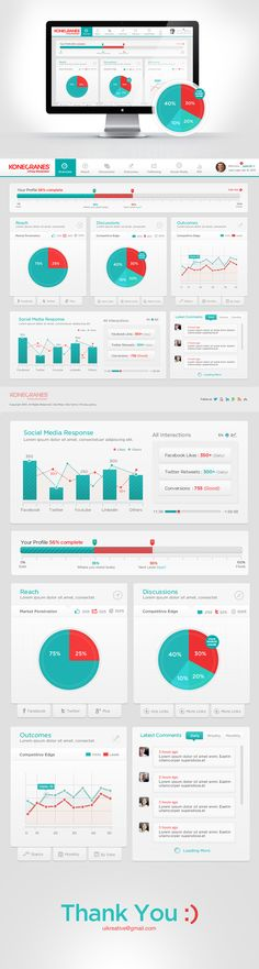 Konecrane Dashboard by UI Kreative