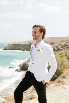 A true celebration of love on the off-the-beaten-track Folegandros Island Southern Prep, Celebrities, Wedding, Style, Fashion, Valentines Day Weddings, Swag, Moda, Celebs
