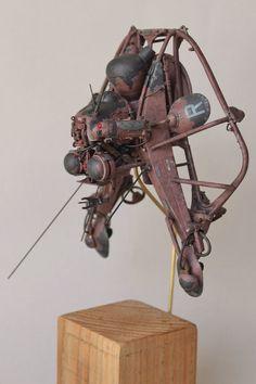 Maschinen Krieger Ma.K Scout Flyer Adlerauge by Scumandvillainy.deviantart.com…