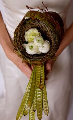 Couture Bridal Bouquet - I like it but not sure as a bridal bouquet - maybe as a centerpiece?