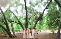 Romantic Saddlerock Ranch Wedding: Lindsey + Nathan