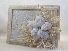 Belleek Inspired Poinsettia and Holly | KittieKraft | Bloglovin'