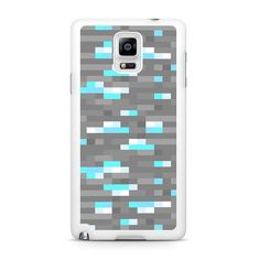 Minecraft inspired Ore diamond Samsung Galaxy Note 4 Case