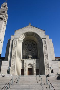 Basilica of the National Shrine of the Immaculate Conception, Washington, DC www.stephentravels.com/top5/entryways