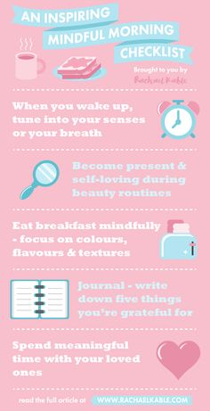 Discover meaningful mindfulness tips to help you create a more mindful morning! In this article, you will learn simple and interesting ways you can be more mindful in the morning, from waking up to your beauty routines. Click the link for the full article!