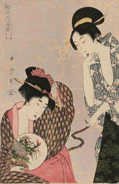 Kitagawa Utamaro (喜多川 歌麿), 1753-1806