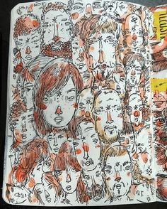 Heads up! #sketchbook