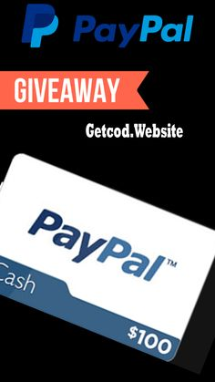 Gift Card Deals, Paypal Gift Card, Gift Card Giveaway, Free Gift Cards, Paypal Hacks, Gift Card Generator, Free Money, Coding, Gifts