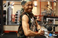 Power: Willie Murphy, the 77-year-old weightlifter