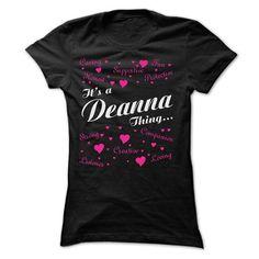 DEANNA T Shirt Mind Blowing Facts About DEANNA T Shirt - Coupon 10% Off