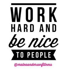 """""""Yep...I'm pretty sure these two simple rules are the key to being successful at just about ANYTHING!! """" Photo taken by @maleaandersonfitness on Instagram, pinned via the InstaPin iOS App! http://www.instapinapp.com (12/11/2014)"""