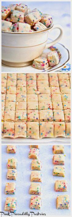 Fairy Bites - Tiny Shortbread Cookies!