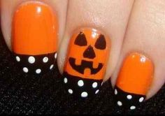 halloween nail designs | Easy Halloween Nail Designs - Loveable Nails
