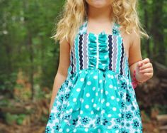 Children's Sewing Pattern Dress INSTANT DOWNLOAD by ThreadCouture