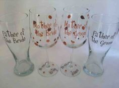 Wedding gifts for parents of the bride and groom. 4 Personalized Mother and Father of the Bride and Groom. Bridal Shower Gifts For Bride, Wedding Gifts For Bride And Groom, Wedding Gifts For Parents, Disney Bridal Showers, Unique Wedding Gifts, Bridal Shower Rustic, Father Of The Bride, Wedding Groom, Bride Gifts