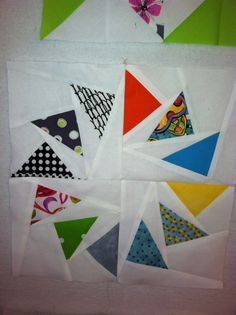 First try at paper piecing!