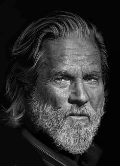 Jeff Bridges In His Time, Jeff Bridges, Old Faces, The Big Lebowski, Al Pacino, Jack Nicholson, Lee Jeffries, Like You, Hollywood