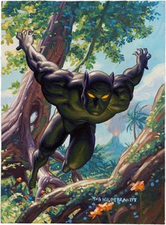 *Ruler of the African kingdom of Wakanda, the ebon Avenger known as the Black Panther is both as swift and silent as his namesake! *Source: Card back Black Panther Fleer Trading Card 1994 Marvel Maste Marvel Comic Character, Comic Book Characters, Comic Book Heroes, Marvel Characters, Comic Books Art, Comic Art, Character Art, Book Art, Graffiti Characters