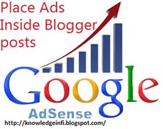 knowledge about IT & others : How To Show Adsense Ads Between Post Title In Blog...