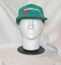 c8bc3b37988 Vintage 80 s ROSSIGNOL Teal Green and Pink Corduroy Baseball Hat Cap Retro  Ski  Rossignol  wintersports  TheSmartShoppe