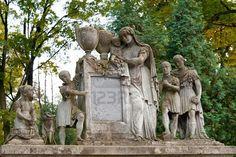 family tombstone  - Ukraine