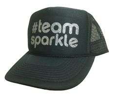 #TeamSparkle Trucker Hat. #TeamSparkle Trucker Hats are great for showing people you are part of the team. Perfect for a run or for being awesome anytime. Sparkle Athletic Trucker Hats are great during a run or for being awesome anytime. Made by HEADSWEATS exclusively for Sparkle Athletic, our Sparkle Truckers will keep the sweat out of your eyes while you shine.
