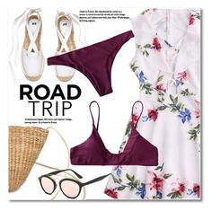Rev It Up: Road Trip Style by svijetlana on Polyvore featuring polyvore fashion style clothing roadtrip zaful