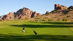 Papago.....this place has no real golf cart paths and these crazy carts that beep if you go into places you should not go.