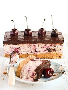 Chocolate Chip Cherry Cheesecake by raspberri cupcakes, via Flickr