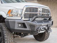 2015 SEMA Ram 2500 Pro Comp Lift Go Rhino Bumper