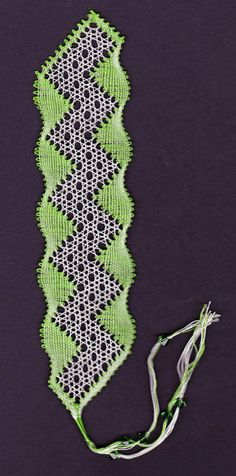 August Birthstone Bookmark - one of my favourite designs by Lou Woo.
