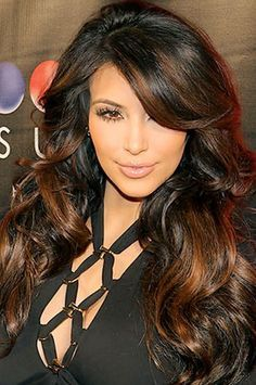 hispanic hair highlights - Google Search