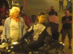 photostills of aamir khan from the sets of dhoom 3.