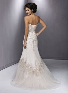 Back of Milana by Maggie Sottero
