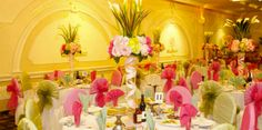 Elegante Banquet Hall @ North Hollywood CA | Max Capacity: 300 | Prices starting at $4,595 | Wedding Reception Banquets | Wedding Table Setting & Tablescapes | Best Socal Wedding Venues  #weddingspot #weddinginspiration