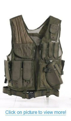 Ultimate Arms Gear Tactical OD Olive Drab Green Lightweight Edition Tactical Scenario Military-Hunting Assault Vest w/ Right Handed Quick Draw Pistol Holster #Ultimate #Arms #Gear #Tactical #OD #Olive #Drab #Green #Lightweight #Edition #Scenario #Military_Hunting #Assault #Vest #w_ #Right #Handed #Quick #Draw #Pistol #Holster