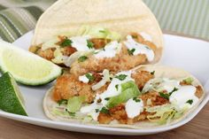 South Of The Border Seafood Recipe: Classic Beer-Battered Baja Fish Tacos | 12 Tomatoes