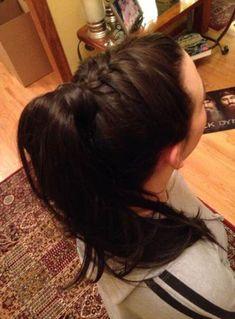 Trendy braids ponytail extension ideas braids is part of braids - braids Box Braids Hairstyles, Chic Hairstyles, Trending Hairstyles, Cabelo Ombre Hair, Perfect Ponytail, Hair Upstyles, Ponytail Extension, Braided Ponytail, Fishtail Braids