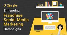 5 Tips for Enhancing Franchise Social Media Marketing Campaigns - http://webmediauniversity.com/5-tips-for-enhancing-franchise-social-media-marketing-campaigns?utm_source=rss&utm_medium=send+social+media&utm_campaign=RSS