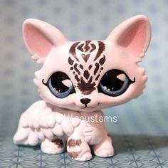 Yuki Dragon (Piaslittlecustoms Original Character) Littlest Pet Shop LPS custom #Hasbro