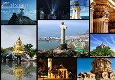 Fedezze fel a világot! :) #TinTatu #Fotokonyv #Utazas #Vilag Mosaic, Travel, Ink, Viajes, Mosaics, Destinations, Traveling, Trips, Mosaic Art