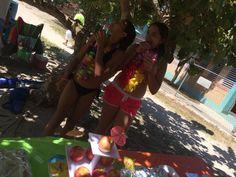 Cumpleaño playero!!! #celebrando #vida #onceaños #princesa #niña #rosa #azul #amarillo #violeta #rojo #puroamor #Diosesbueno #domingo #familia #corazoninflao #mimayortesoro #pedroysharon #buye #caborojo #puertorico #playasolyarena #piñacolada