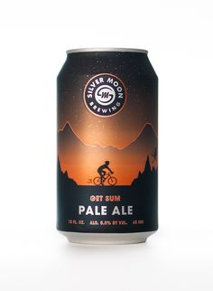 Silver Moon Brewing craft beer can design. Get Sum pale ale packaging. - Silver Moon Brewing craft beer can design. Get Sum pale ale packaging. Craft Beer Brands, Craft Beer Labels, Tiger Design, Craft Bier, Pale Ale Beers, Beer Label Design, Best Craft Beers, Beer Art, Beer Packaging