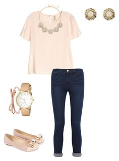 """""""Fall Break Day 5: Downtown Charleston and Shopping!"""" by shayla-poynter ❤ liked on Polyvore featuring H&M, Frame Denim, The Limited, Monsoon, Kate Spade, Brooks Brothers, women's clothing, women's fashion, women and female"""